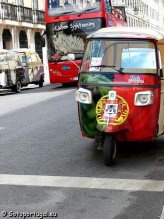 Visiter Lisbonne, la ville aux 7 collines - Tuk Tuk Portugais