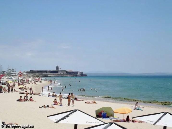 Visiter Lisbonne, Plage de Carcavelos