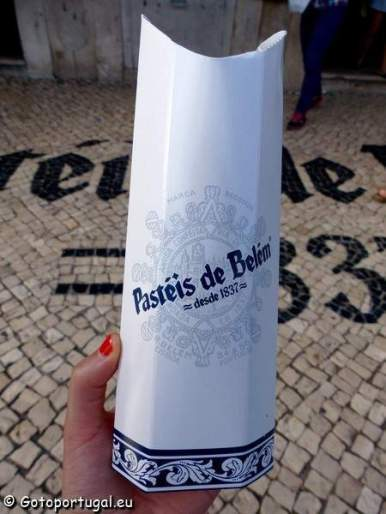 Visiter Lisbonne, pasteis de belém