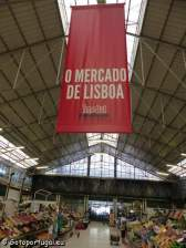 Visiter Lisbonne, marché ribeira