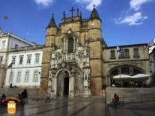 Visitar Coimbra - Igreja e Cafe de Santa Cruz