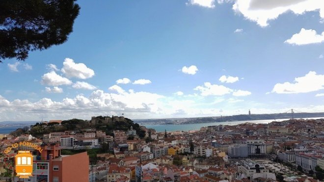 Miradouro da Senhora do Monte - Week-end a Lisbonne