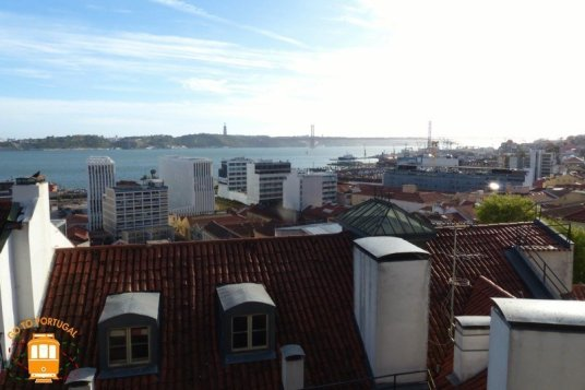Miradouro de Santa Catarina Lisbonne