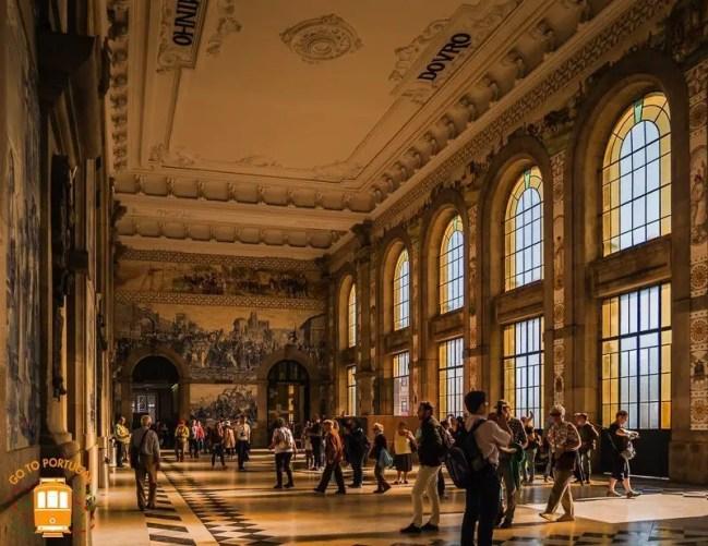 Visiter Porto : Gare de Sao Bento