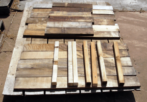 Lumber that meets certain specific requirements can be claimed for donation