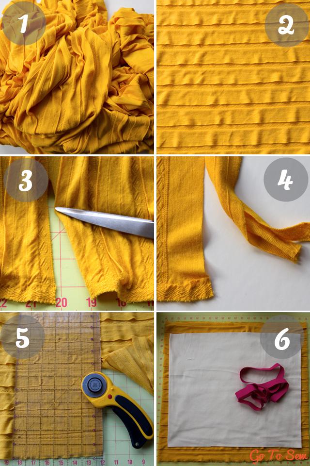 Ruffle knit skirt tutorial from gotosew.com
