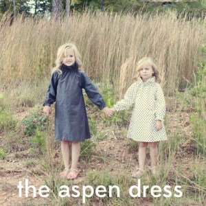 Aspen Ruffle dress and top pattern