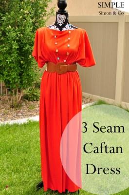 three seam dress