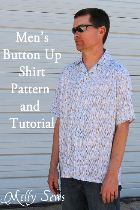 mens button up tutorial