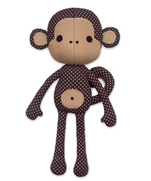 cute-monkey-sewing pattern