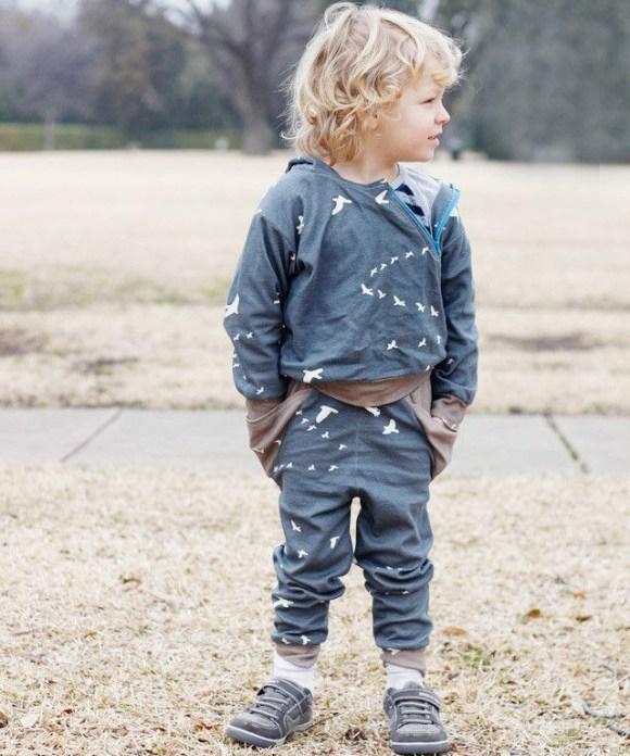 triangle pants pattern