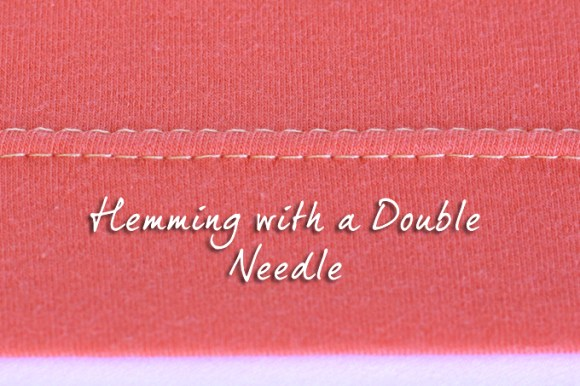 hemming with double needle