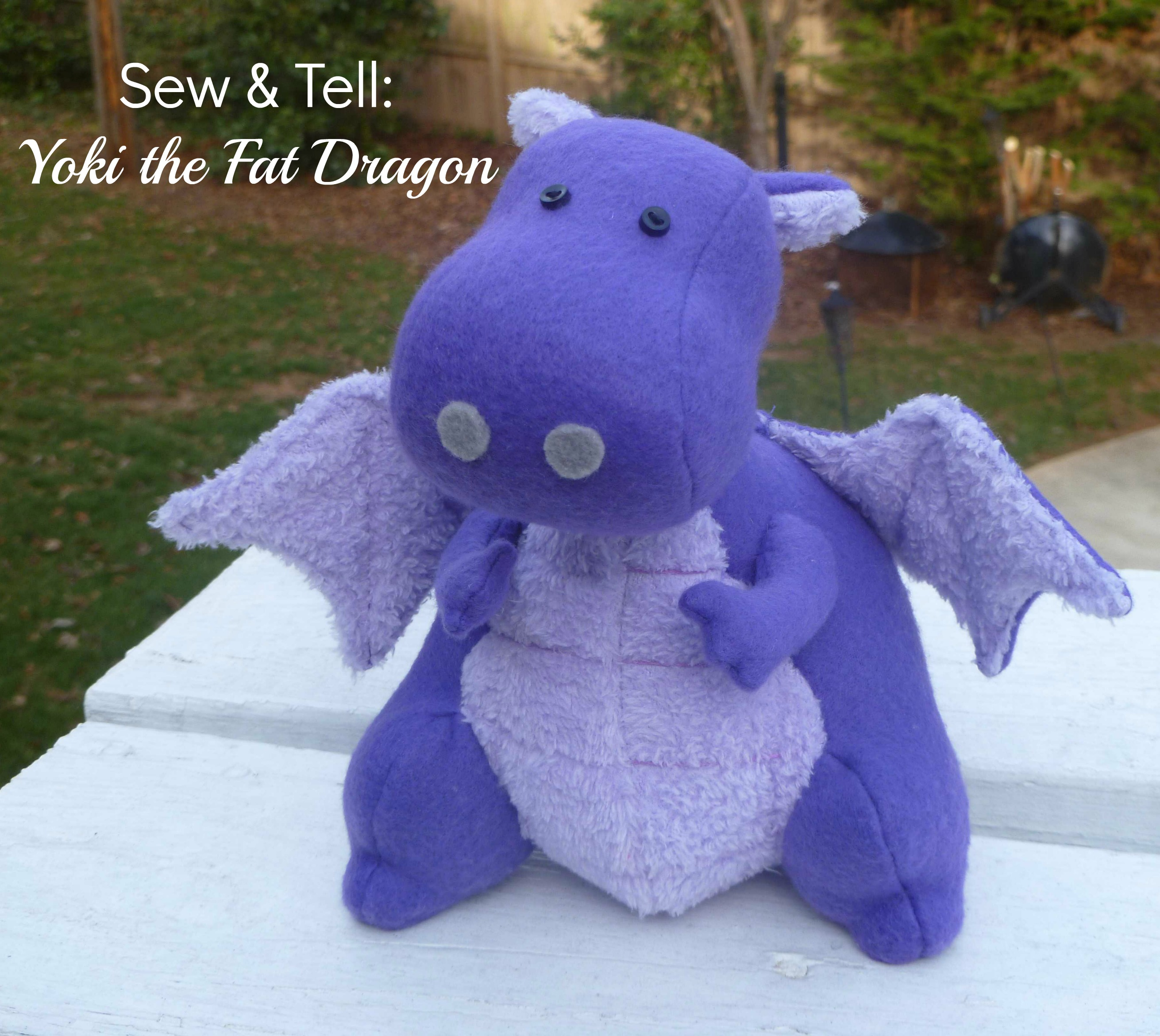 Sew Amp Tell Yoki The Fat Dragon SEWTORIAL