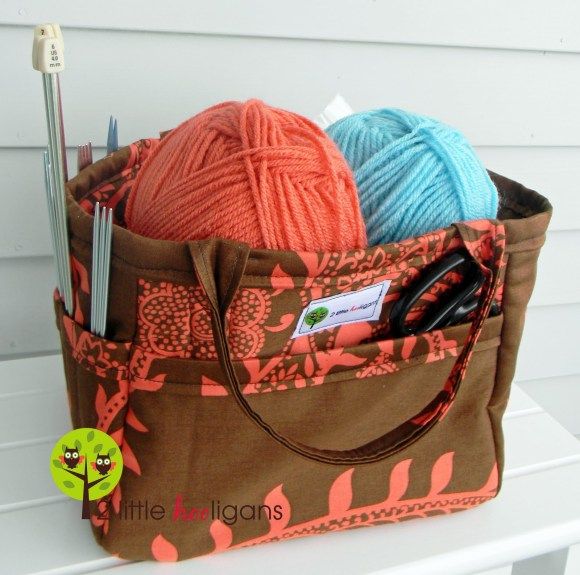 Adorable! Make your own tote basket. TUTORIAL