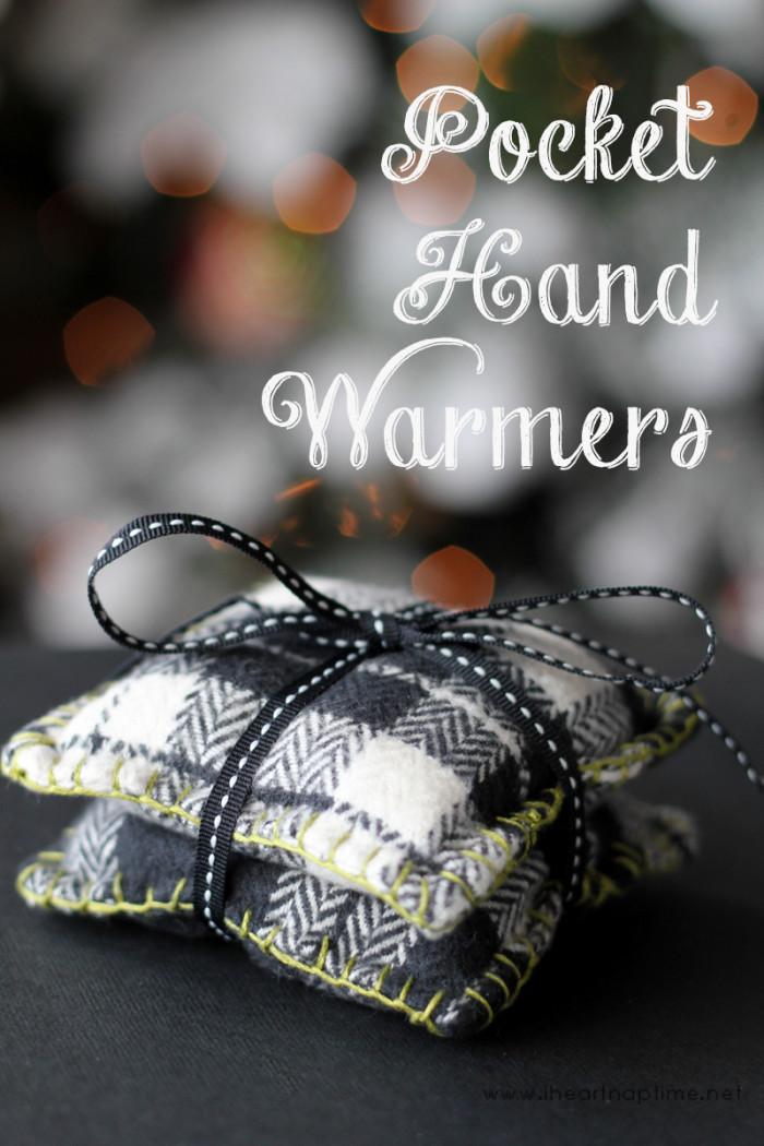 Pocket Hand Warmers - Sewtorial