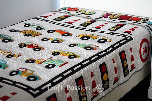 Road Runner Blanket Quilt - Sewtorial