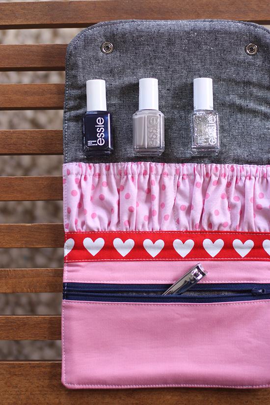 DIY Manicure Wallet by Noodlehead - Sewtorial