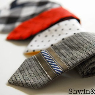 Here's a super quick 10-Minute tie pattern by Shwin and Shwin that will have your little guy dressed to impress in no time. - Sewtorial