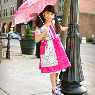 Make a fabric umbrella!