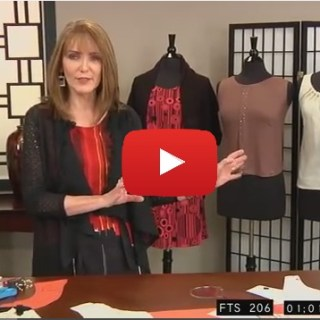 Turn any tank pattern into the perfect tank with this video tutorial by Peggy Sagers for Silhouette Patterns. -Sewtorial