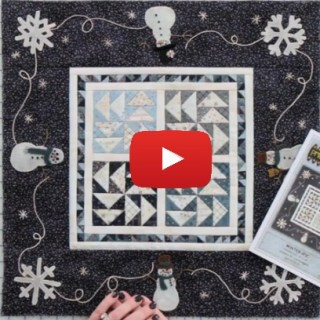 In this video by the Fat Quarter Shop, Lisa Bongeon shares tips on small piecing and how to make an adorable quilt. -Sewtorial