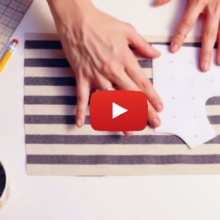 In this video tutorial by Workroom Social (with McCall's Patterns), you learn how to customize your sewing patterns with stripes. -Sewtorial