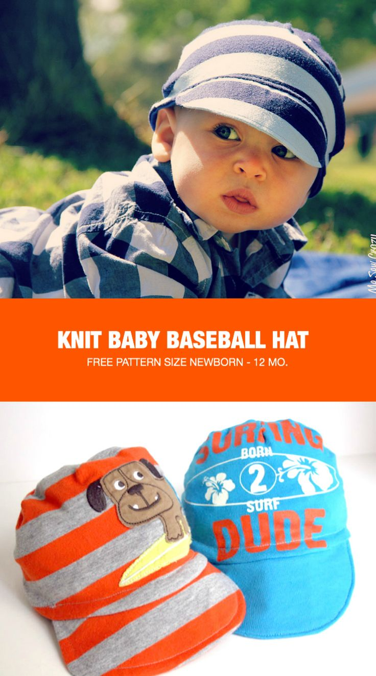 Stop the cuteness! These adorable little baby knit baseball caps by The Sewing Rabbit are made out of thrifted onesie. Fantastic! -Sewtorial