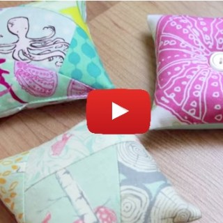 "Pin cushions are a definite ""must have"". In this video, Melanie Ham shares a simple pin cushion tutorial (3 ways). -Sewtorial"