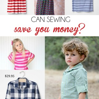 When you compare sewing to retail, can sewing save you money? Read this article by Peek-a-Boo Pages to find out how to make sewing work in your favor. -Sewtorial
