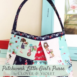 For the little lady in your life, comes this adorable patchwork purse tutorial by Clover & Violet. -Sewtorial