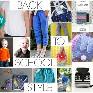 From things to wear to tablet carriers, here's a list of some of our favorite back to school tutorials (for all ages) featured here on Sewtorial.