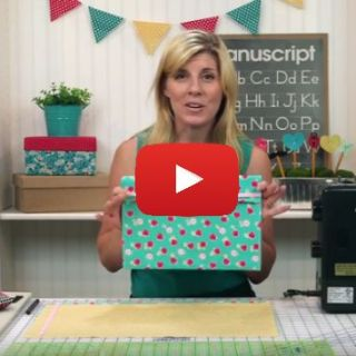 Just in time for back to school are these cute fabric folders by Shabby Fabrics. This project is perfect for beginners and only takes a fat quarter. -Sewtorial