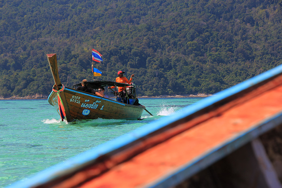 From Koh Lipe to Koh Adang