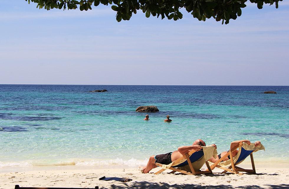 Sanom Beach on Koh Lipe