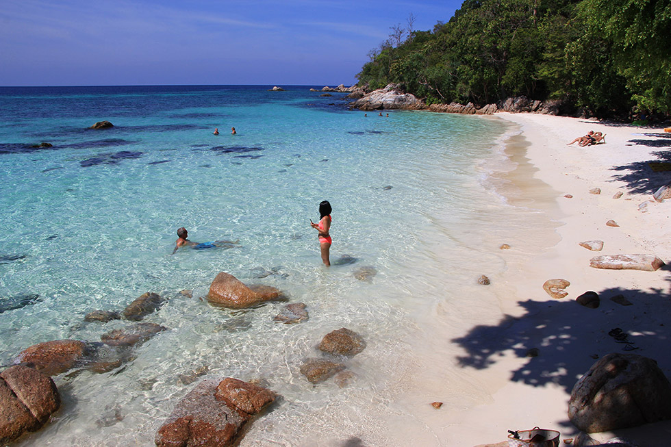 Sanom Beach on Koh Lipe