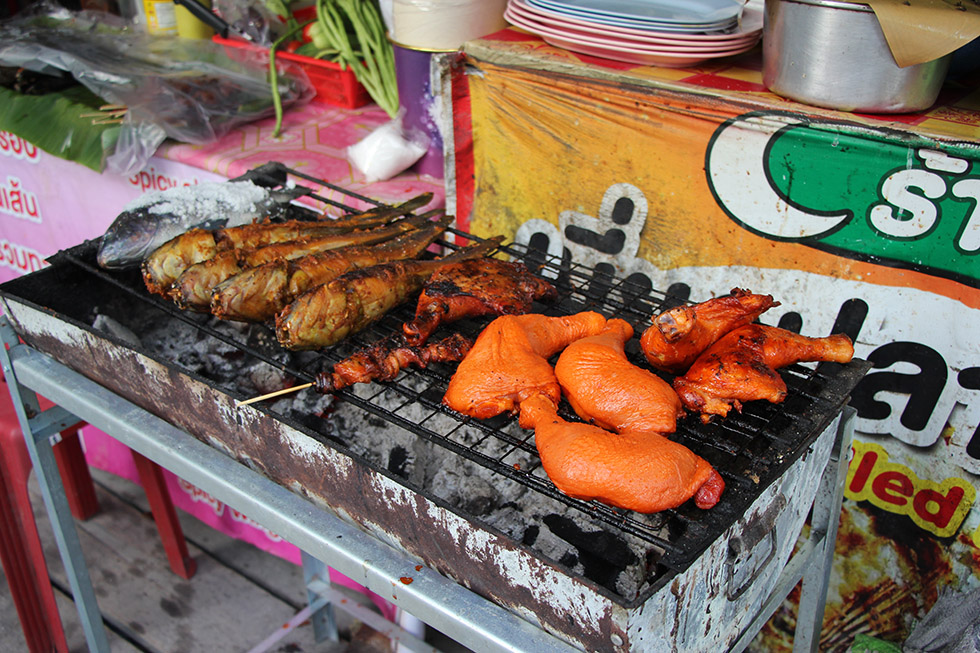 Tasty street food at Koh Lipe's Walking Street