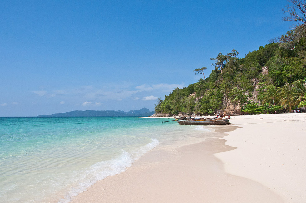 Bamboo Island near Koh Phi Phi