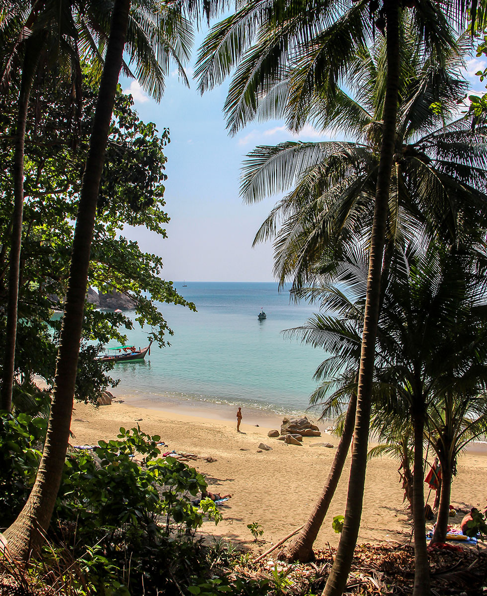 Banana Rock Beach in Phuket