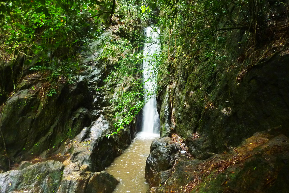 Bang Pae Waterfall in Phuket