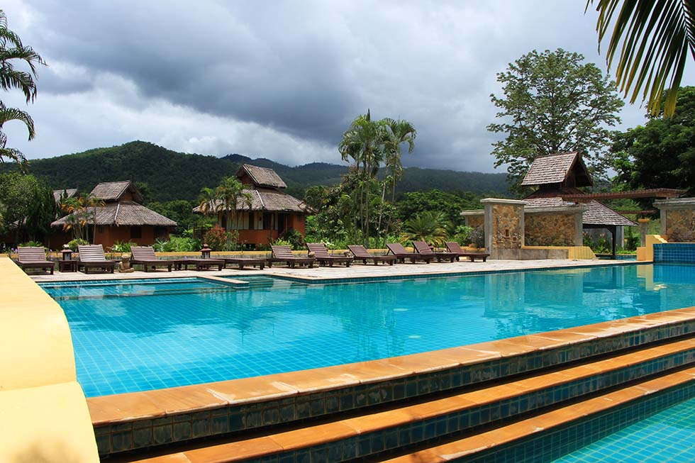 Pai Hotsprings Spa Resort in Pai