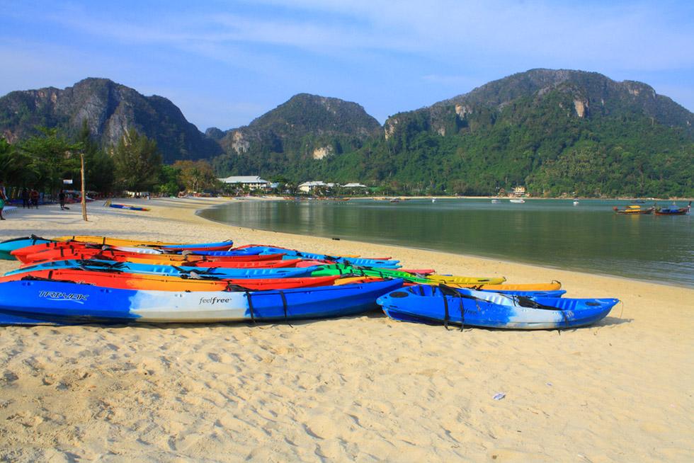 Rent a kayak - Koh Phi Phi