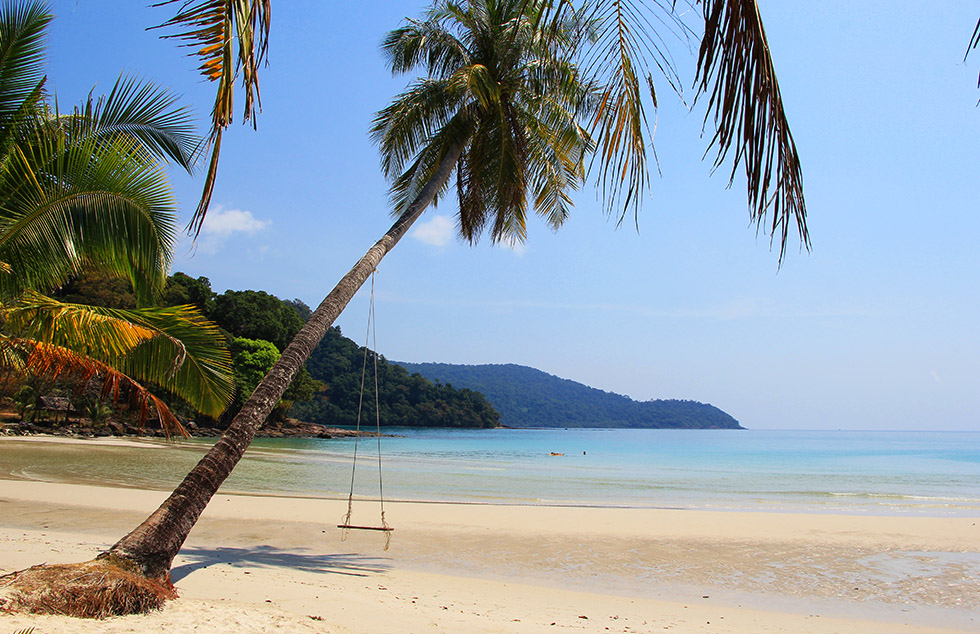 Klong Hin Beach in Koh Kood