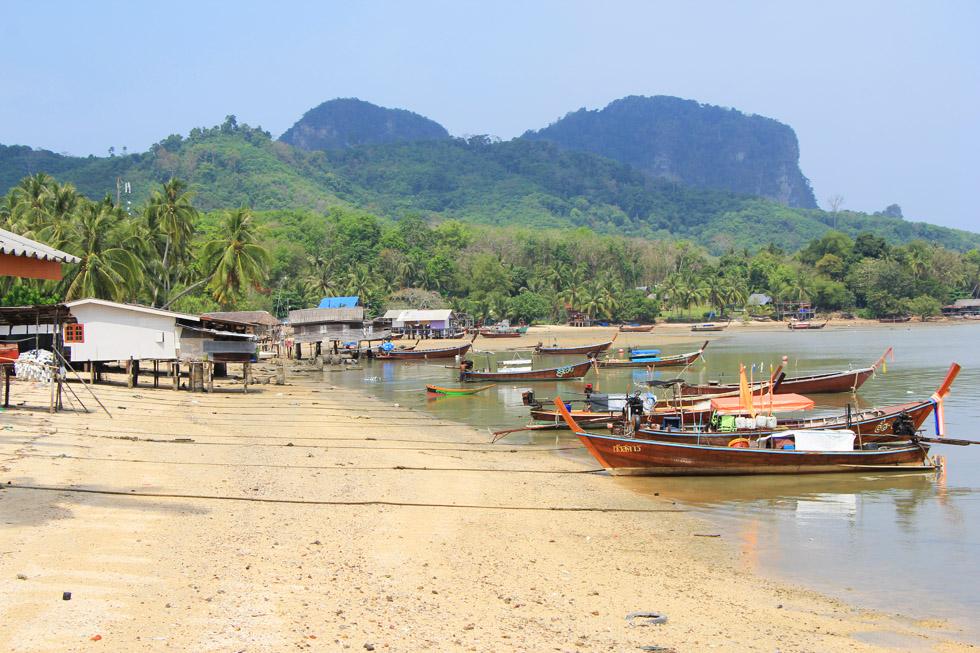 Local beach on Koh Mook