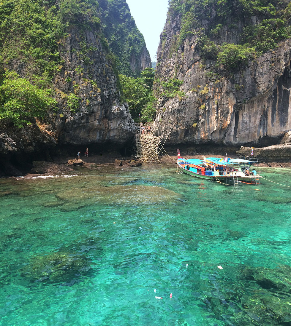 Entrance to Maya Bay - Koh Phi Phi
