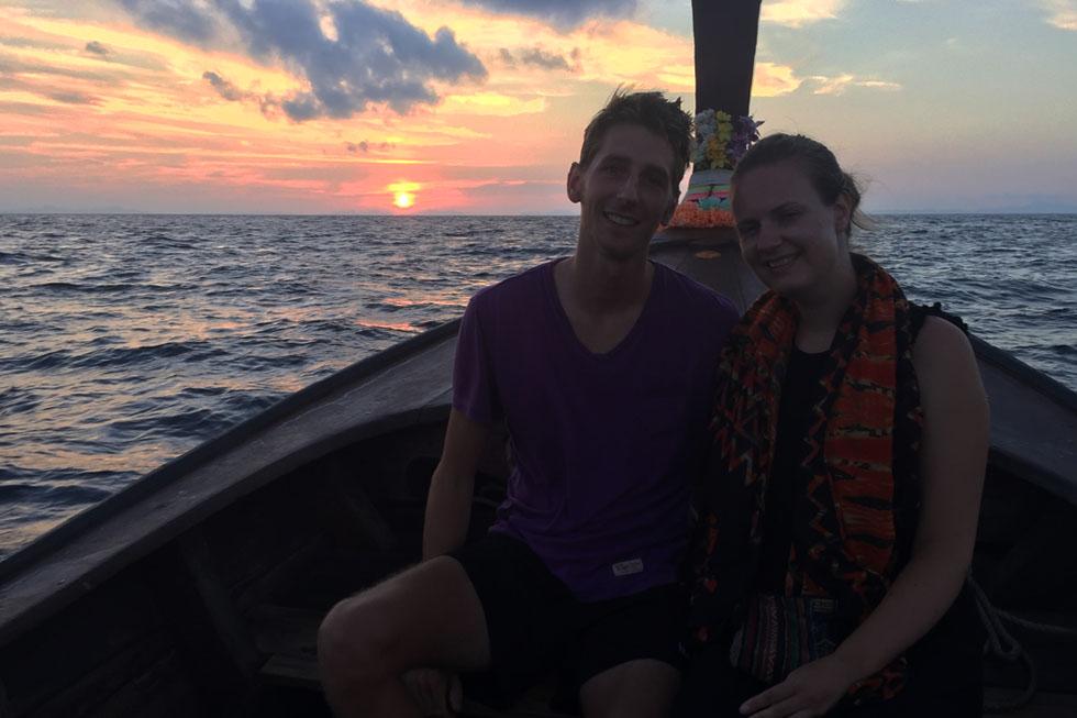 Catching the sunrise - Maya Bay - Koh Phi Phi