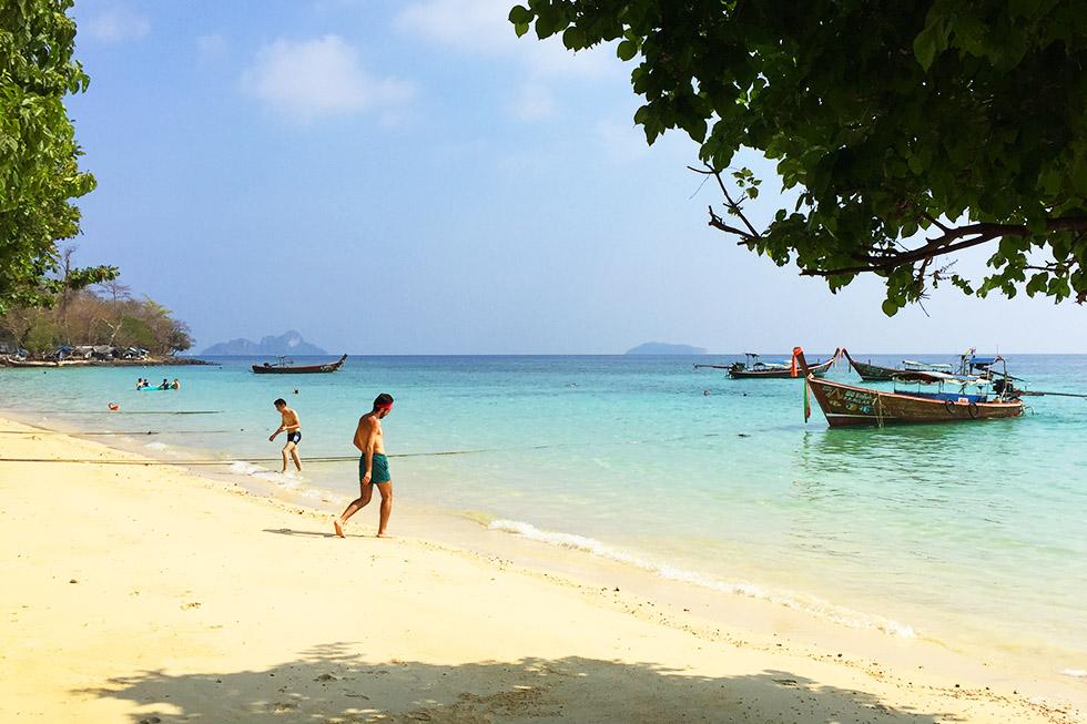 Pak Nam Beach in Koh Phi Phi