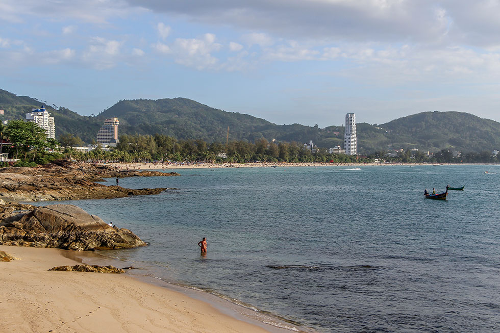 Patong Beach from a distance - Phuket