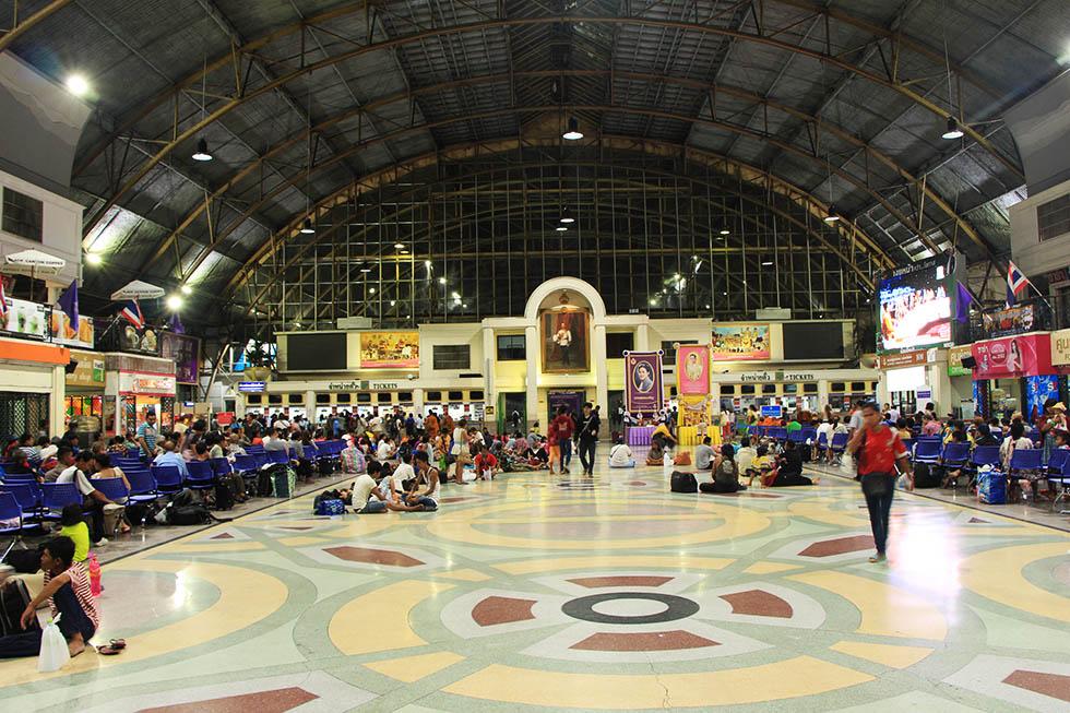 Hua Lamphon Railway Station in Bangkok