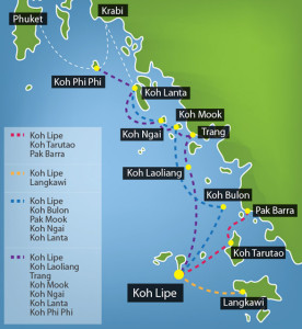 Getting to Koh Mook