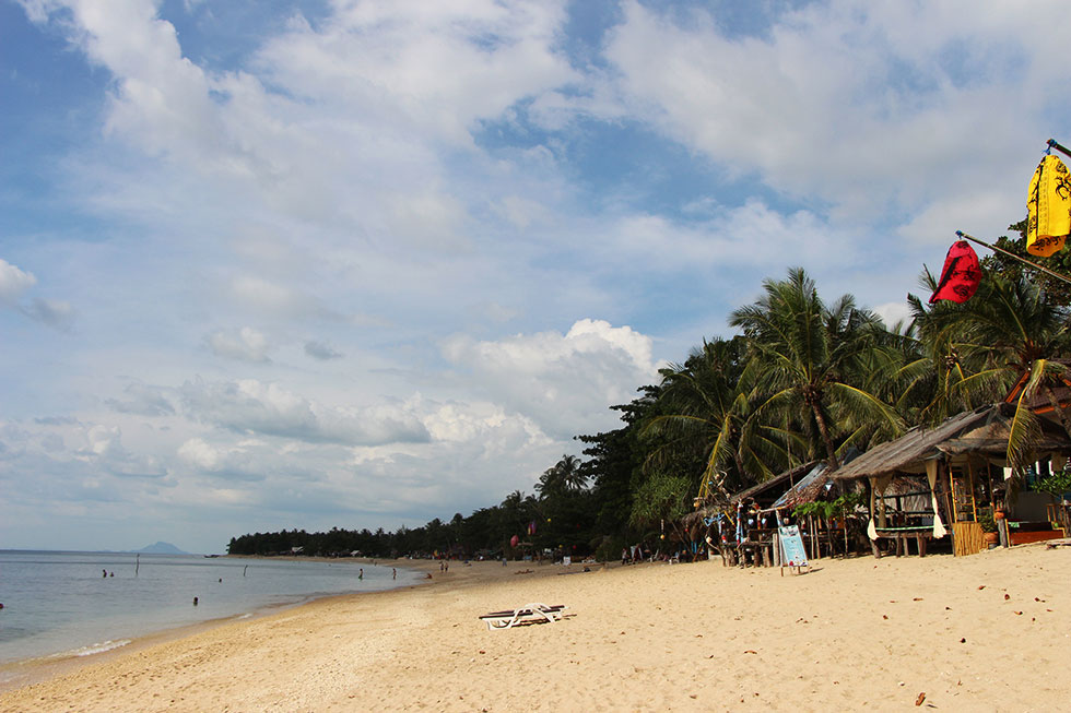 Klong Khao Beach in Koh Lanta